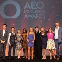 in-cosmetics triumphant at the AEO Excellence Awards 2014