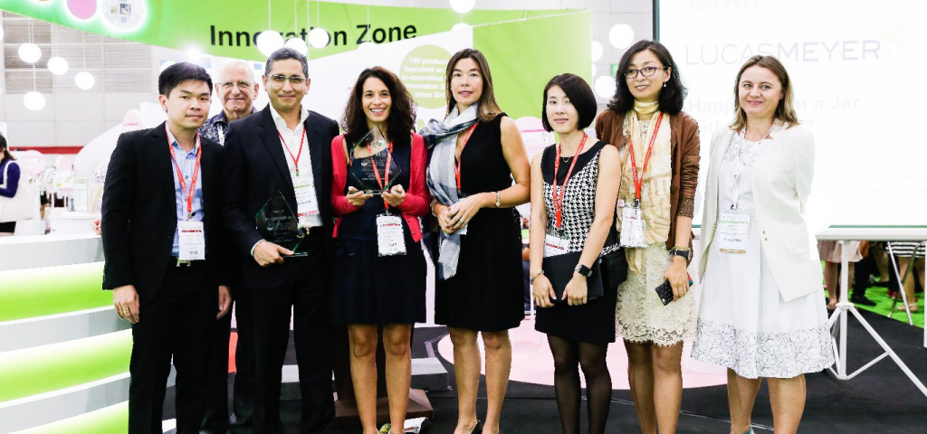 Awards galore at in-cosmetics Asia