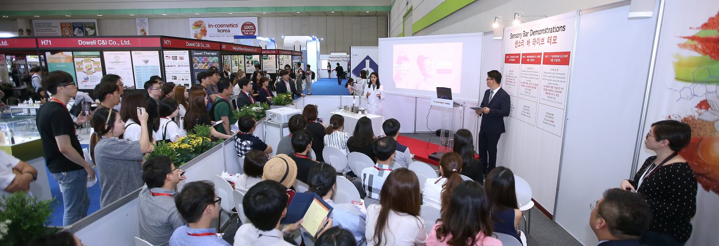Korea's biggest personal care ingredients event to date