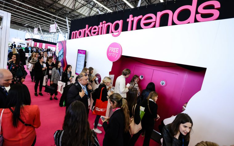 Marketing Trends Theatre in-cosmetics Global 2018