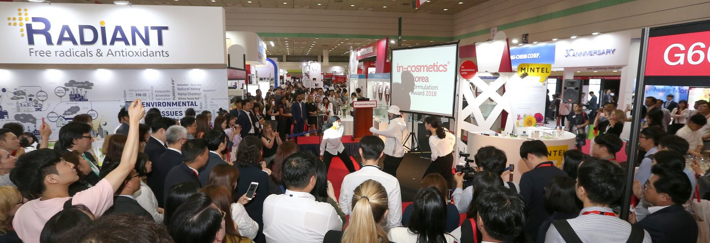 in-cosmetics Korea helps extend the Korean wave for years to come