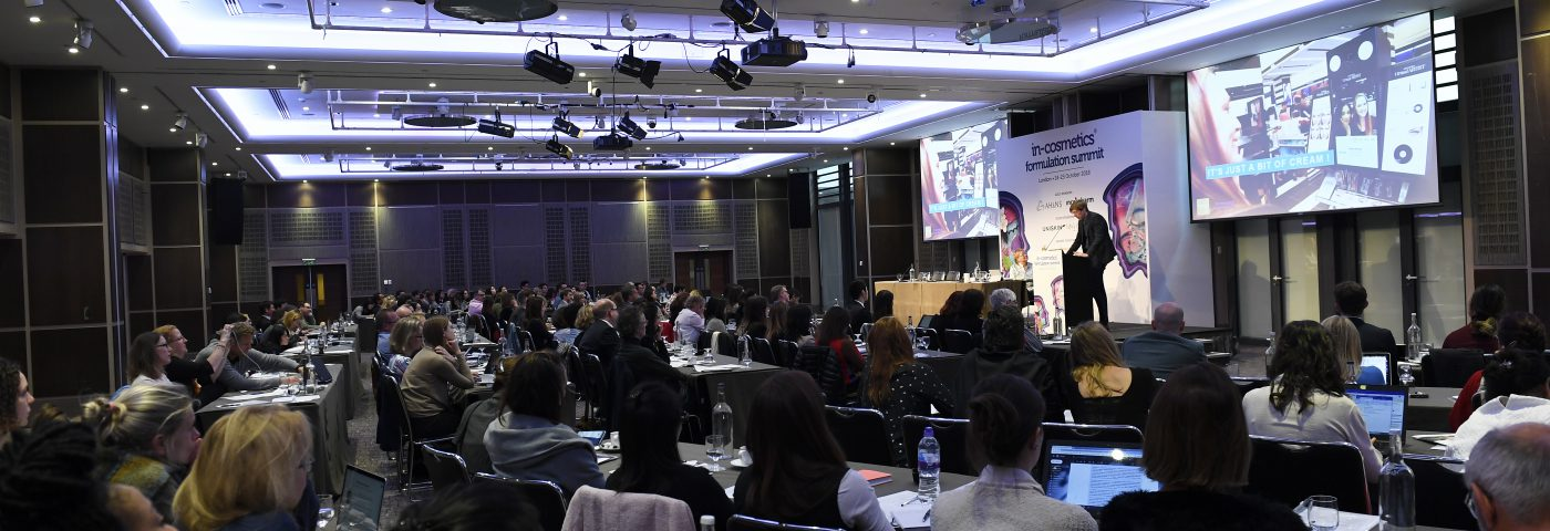 in-cosmetics Formulation Summit draws international attention as it explores the emerging world of bespoke beauty