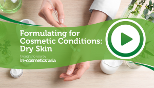 formulating for dry skin