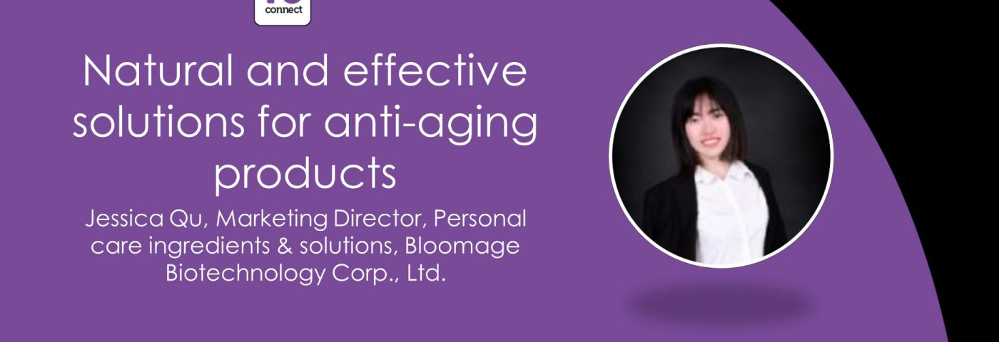 Tackling anti-ageing with Bloomage Biotechnology