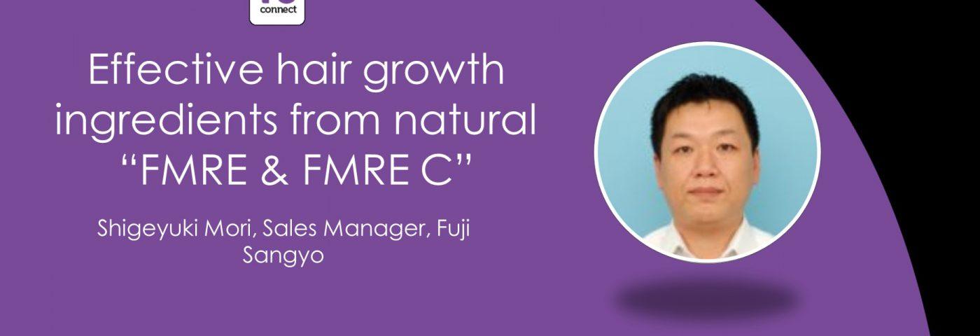 Hair growth tonic from Fuji Sangyo