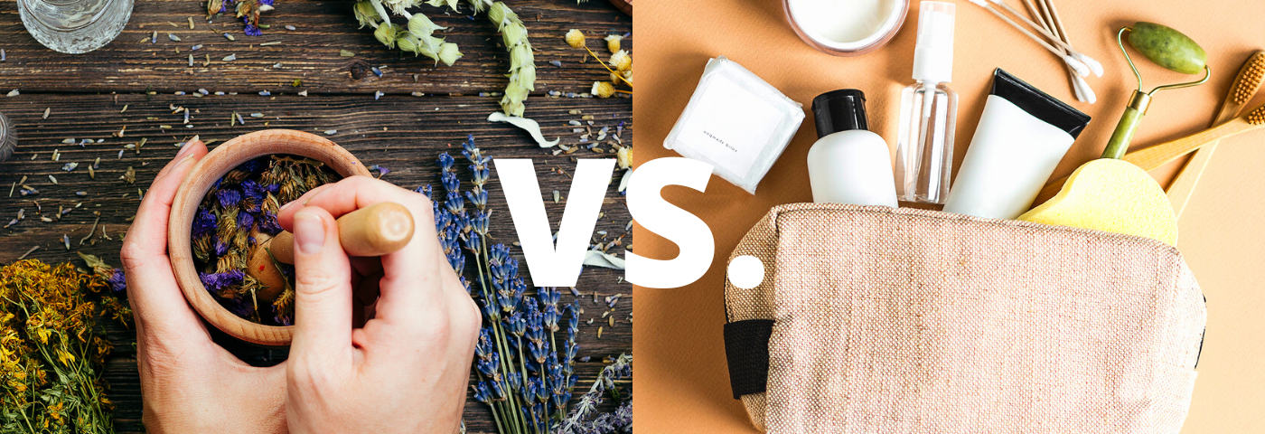 Traditional vs. modern beauty treatments