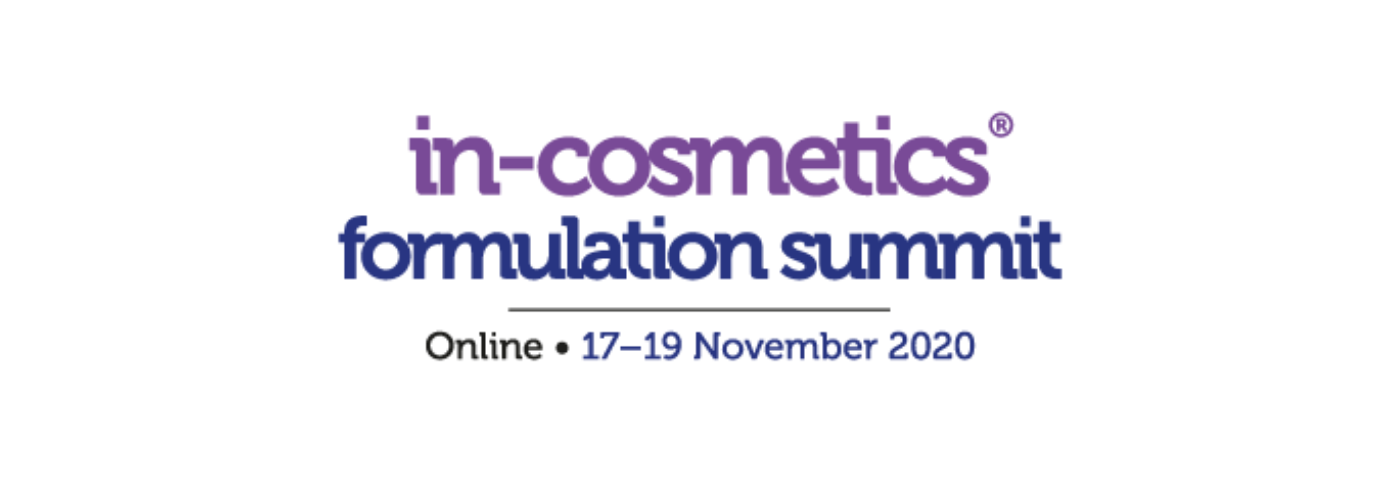 in-cosmetics Formulation Summit 2020 to deliver high-level scientific insights online
