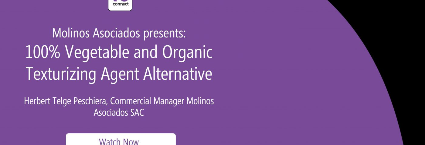 Molinos presents: 100% Vegetable and Organic Texturizing Agent Alternative (in-cosmetics Virtual Webinar)