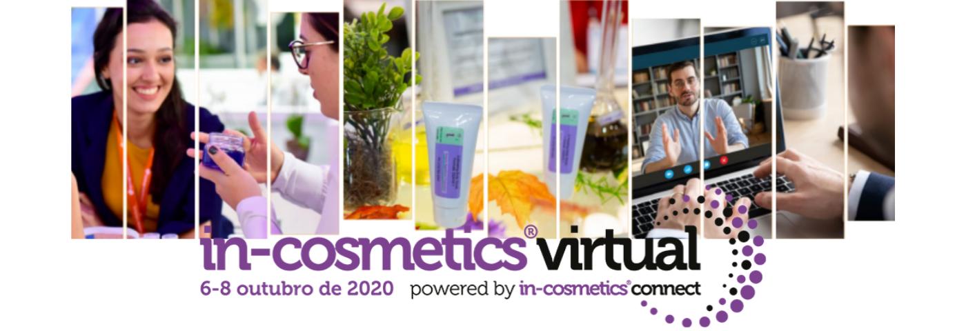 in-cosmetics Virtual reunirá mais de 140 fornecedores de matérias-primas de todo o mundo