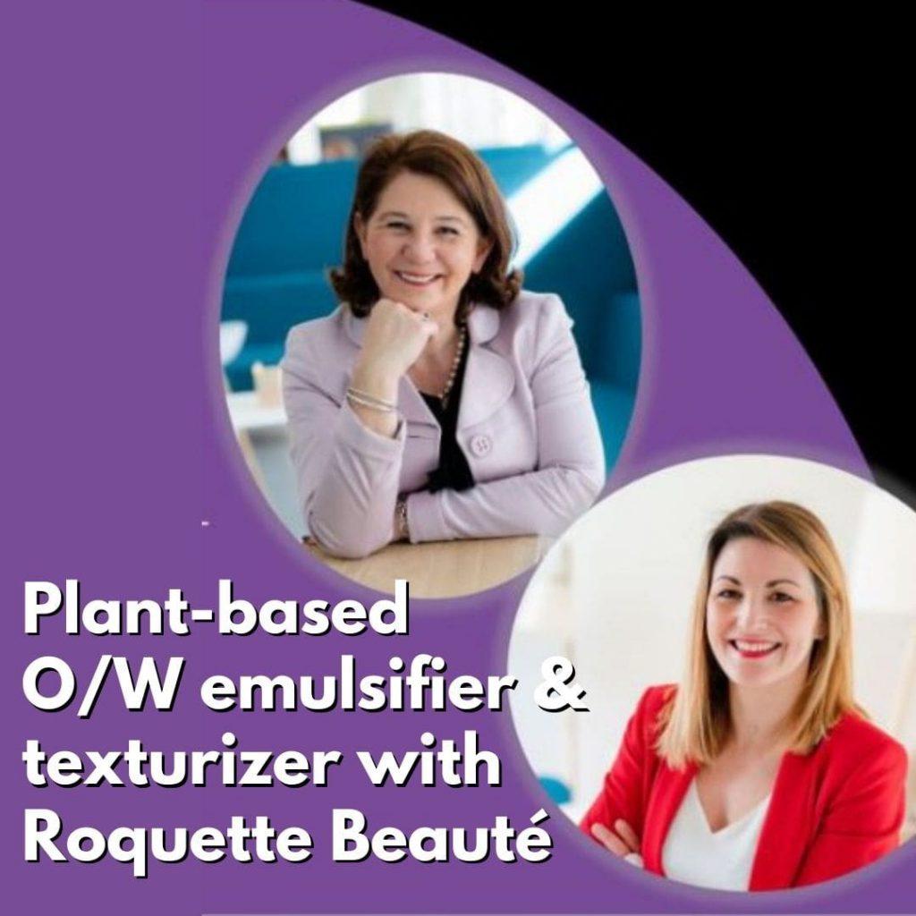 Plant based emulsifier & texturizer
