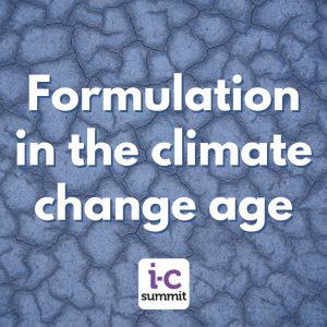 Formulation in the climate change age