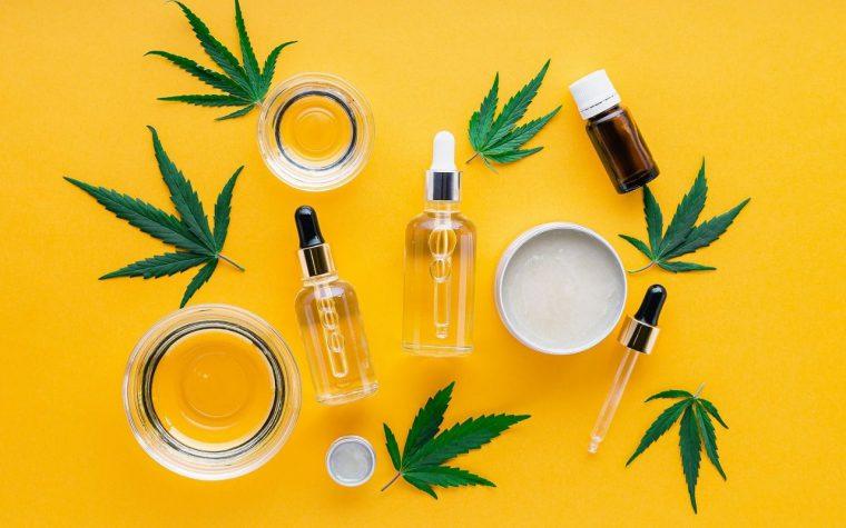 cannabis skincare range