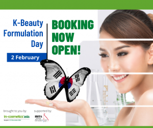 K-Beauty Formulation Day – 2 February