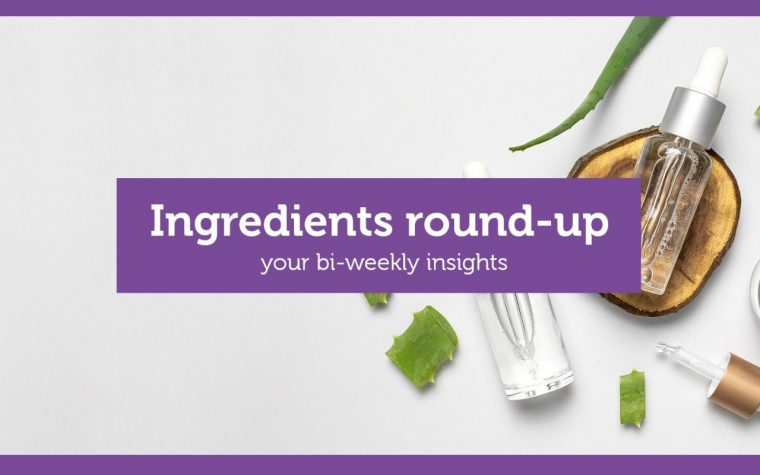 Ingredients round up