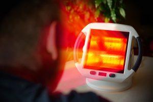 terapia de luz infravermelha
