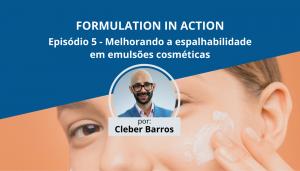 Video Espalhabilidade em Emulsoes Cosmeticas