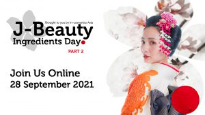 Japanese girl in kimono with texts Join us online 28 September 2021