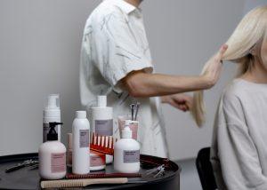 produtos para os cabelos
