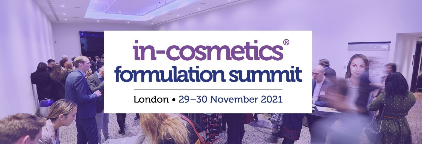The Formulation Summit 2021: Advancing in the age of sustainability and well-being